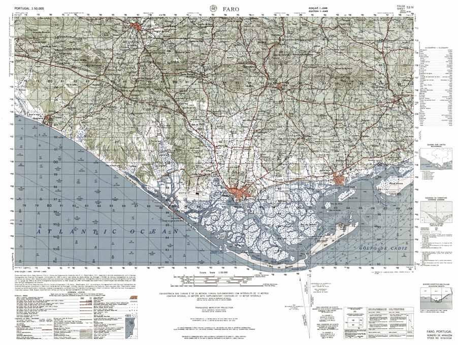 Passagens da Cartografia Militar pelo mundo